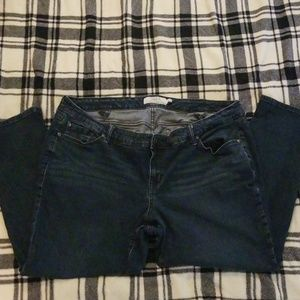 Torrid Dark Wash, Skinny Leg Jean's in Size 24 S